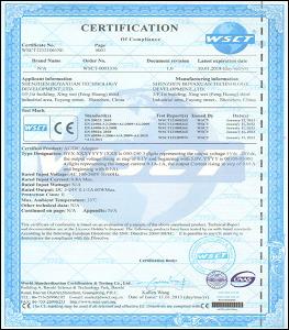 CE認證【EU歐盟】經由被賦予認證權限的機構所發放的認證